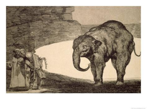 Folly of Beasts, from the Follies Series, or Other Laws for the People, circa 1815-24 Lámina giclée