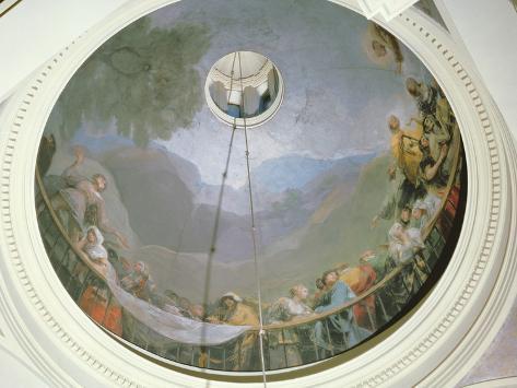 Overview of the Cupola Showing St Anthony, 1798 Lámina fotográfica
