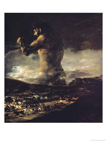 The Colossus, circa 1808 Giclee Print