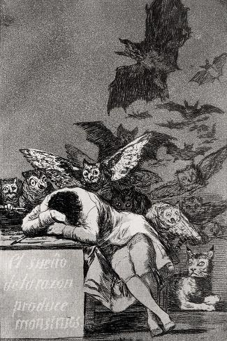 The Sleep of Reason Produces Monsters, from