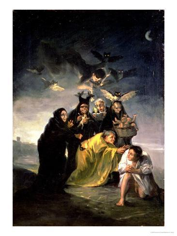 The Witches' Sabbath Giclee Print