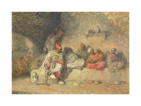 A Group of Moors Giclee Print