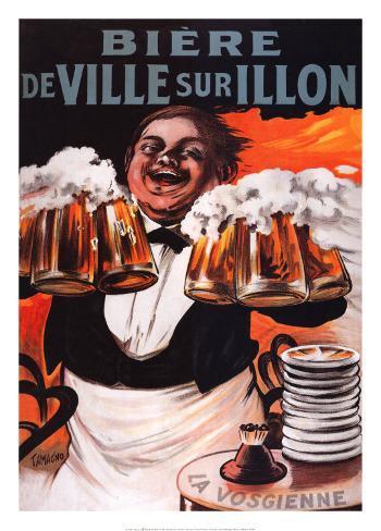 Biere De Ville Sur Illon Art Print