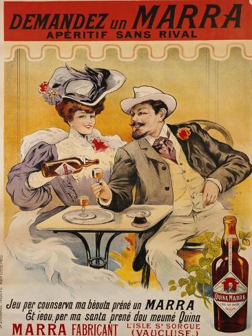 Demandez Un Marra, circa 1900 Giclee Print
