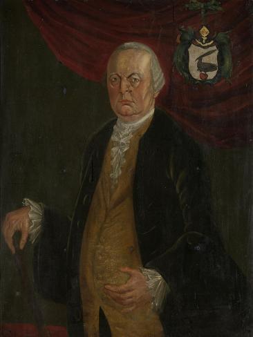 Portrait of Reinier De Klerk, Governor-General of the Dutch East India Company Art Print