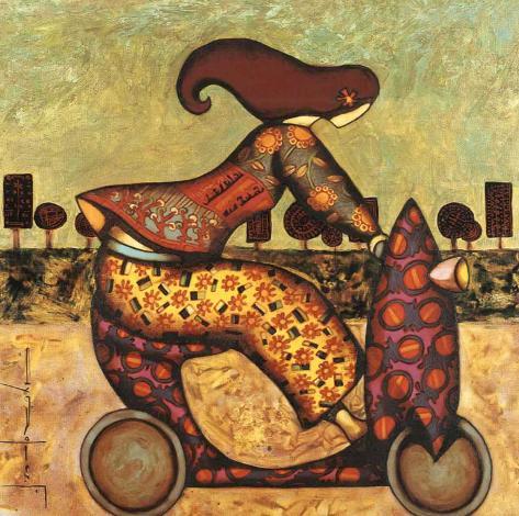 Farouna Art Print