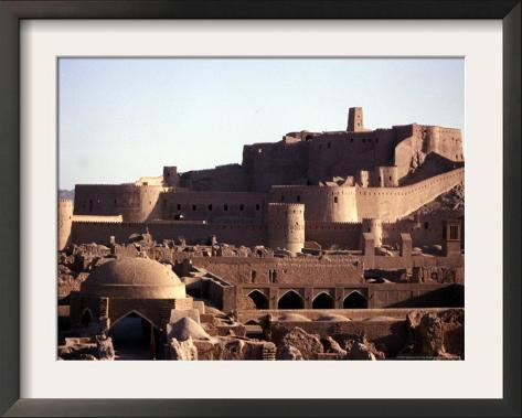 The Medieval Fortress of the 2,000 Year-Old City of Bam, Iran, September 2003 Framed Photographic Print