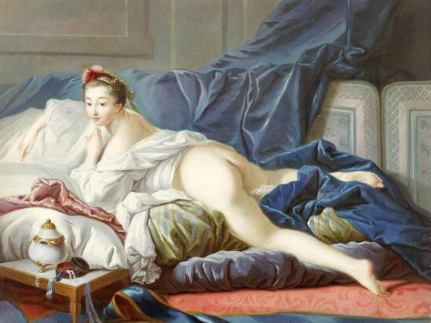 L'Odalisque Brune Giclee Print