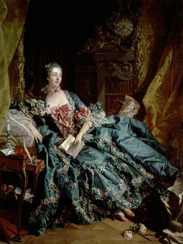 Madame De Pompadour Giclee Print