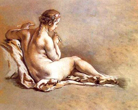 Nude Femeninos II Art Print