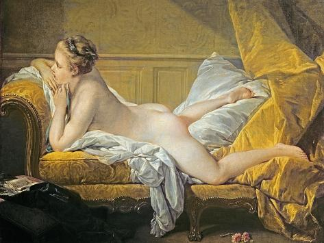 Reclining Nude (Miss O'Murphy) Giclee Print