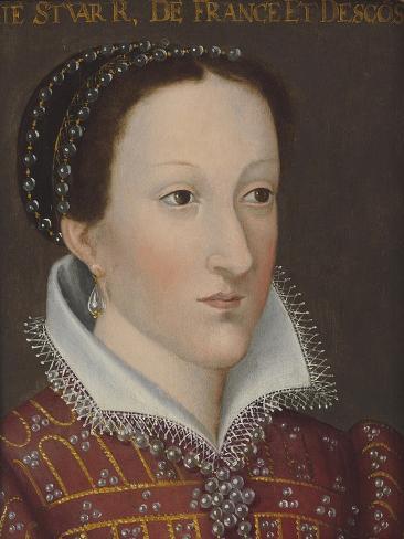 Portrait of Mary Queen of Scots Lámina giclée