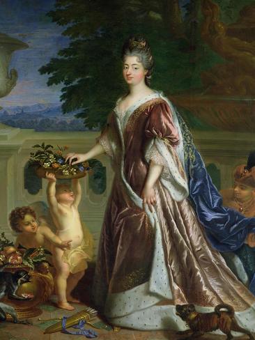 The Duchess of Maine (1676-1753) Giclee Print