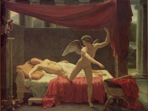 Cupid and Psyche, 1817 Giclee Print