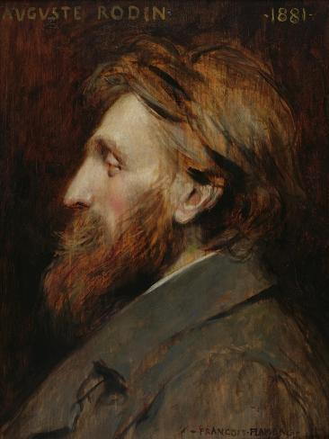 Portrait of Auguste Rodin (1840-1917) 1881 Giclee Print