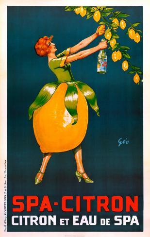 Spa-Citron Art Print