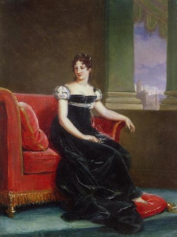 Desiree Clary (1777-1860) Queen of Sweden Giclee Print