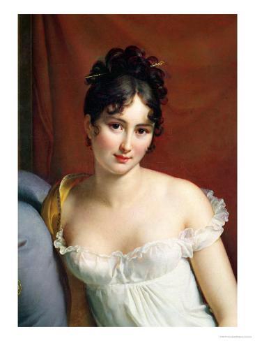 Portrait of Madame Recamier (1777-1849) Giclee Print
