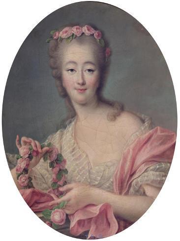 Madame Du Barry, 1770 Giclee Print