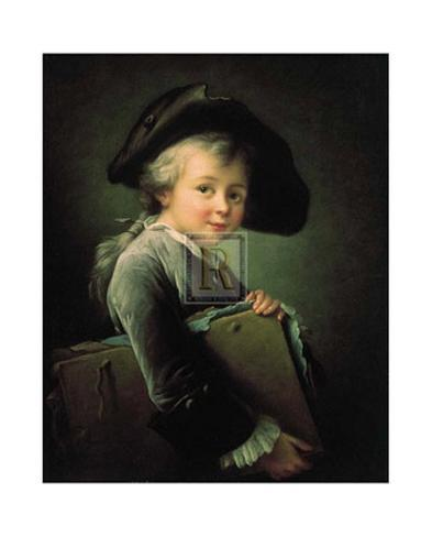 Portrait of the Artist as a Young Man Art Print