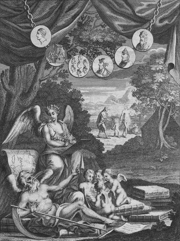 Frontispice, 1724 Giclee Print