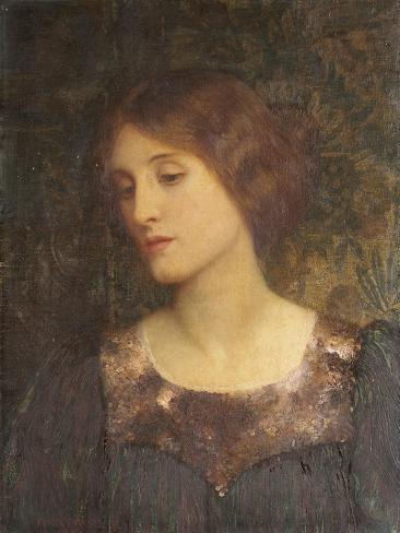 Contemplation, 1897 Giclee Print
