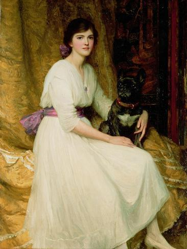 Portrait of Miss Dorothy Dicksee Giclee Print