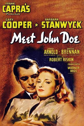 Frank Capra's 'meet John Doe', 1941,