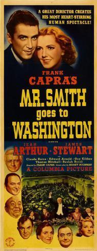 Frank Capra's Mr. Smith Goes to Washington Poster