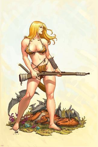 Shanna, The She-Devil No.4 Cover: Shanna The She-Devil Poster