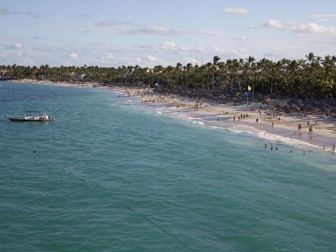 Bavaro Beach, Punta Cana, Dominican Republic, West Indies, Caribbean, Central America Photographic Print