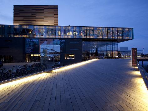 The Play House at Dusk, Copenhagen, Denmark, Scandinavia, Europe Photographic Print