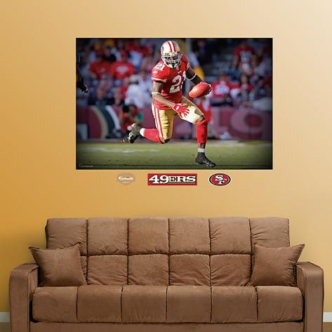 Frank Gore Mural Wall Decal