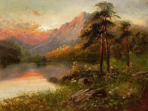Highland Solitude Giclee Print