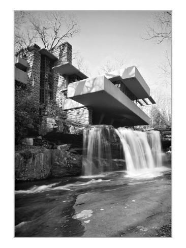 Frank Lloyd Wright, Falling Water Art Print
