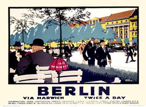 Berlin Giclee Print