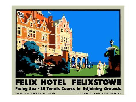 Felix Hotel Giclee Print