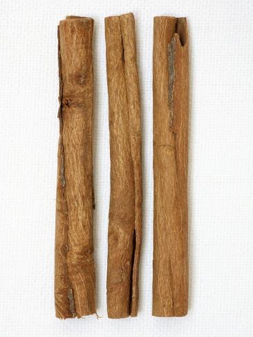 Three Cinnamon Sticks Photographic Print