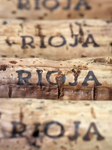 Wine Corks from Rioja Valokuvavedos