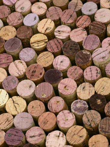 Wine Corks Valokuvavedos