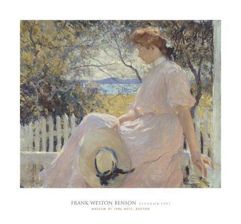 Eleanor 1907 Art Print