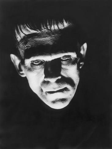 Frankenstein, Boris Karloff, 1931 Photo
