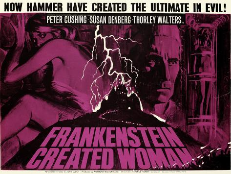 Frankenstein Created Woman Art Print