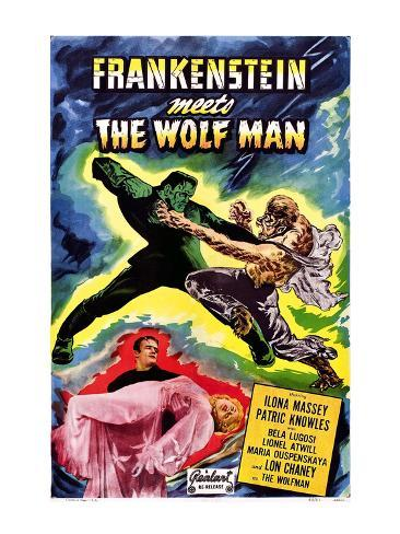 Frankenstein Meets the Wolf Man, 1943 Photo