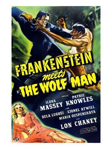 Frankenstein Meets the Wolf Man, 1943 Photo