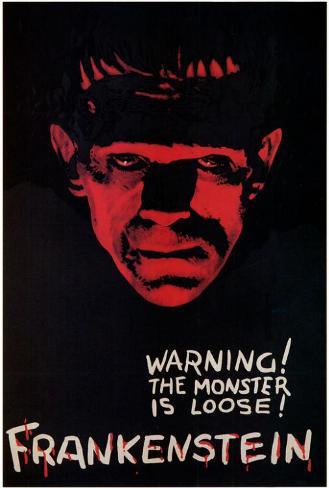 Frankenstein Poster