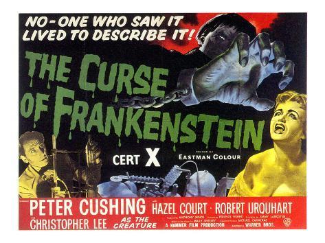 "Frankensteins förbannelse, ""Curse Of Frankenstein"", 1957 Foto"