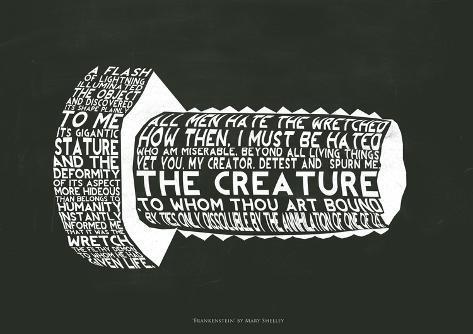 Frankensteins Monster Giclee Print
