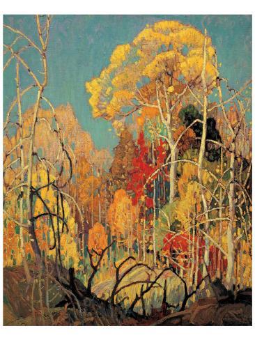 Autumn in Orillia Premium Giclee Print