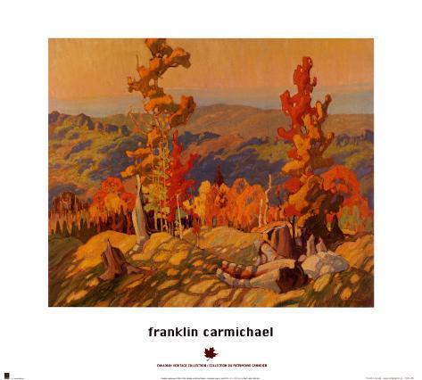 Autumn in the Northland Art Print